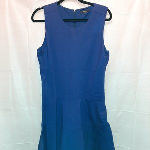 RW&CO Royal Blue Dress XL Plus Size Career Formal